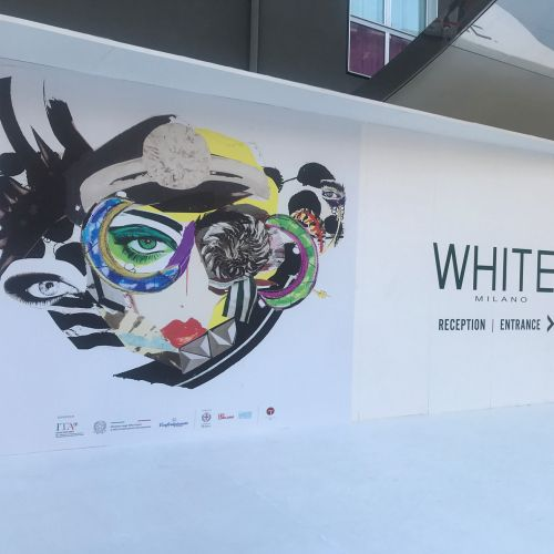 Fashion Advertising White Milano