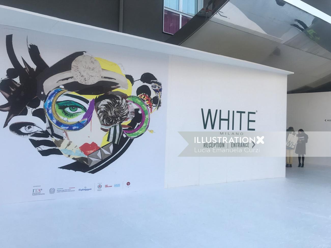 Fashion Advertising White Milano