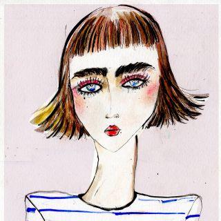 Lucia Emanuela Curzi - Fashion and Beauty Illustrator • London