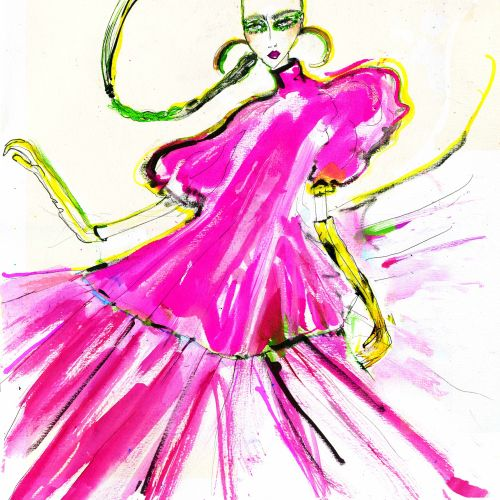Lucia Emanuela Curzi Fashion Illustrator • London