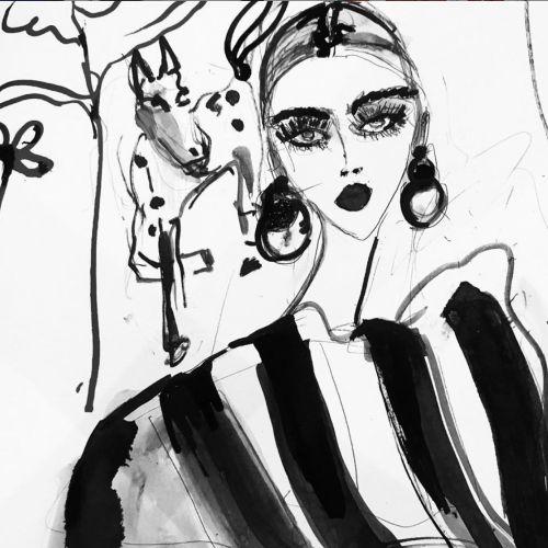 Lucia Emanuela Curzi Black & White
