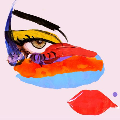 Eye illustration by Lucia Emanuela Curzi
