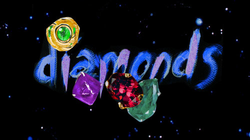 Diamonds illustration by Lucia Emanuela Curzi