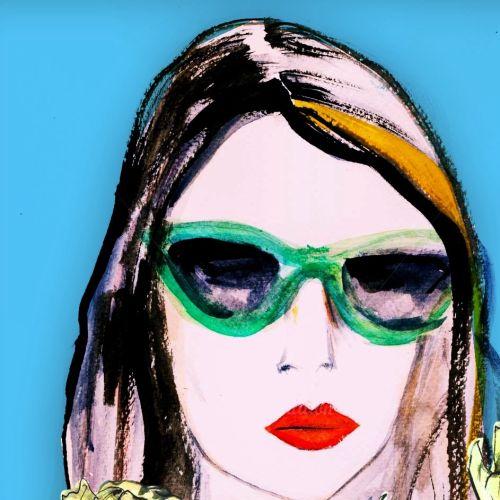 Fashion illustration women by Lucia Emanuela Curzi