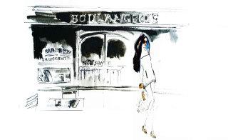 Girl illustration by Lucia Emanuela Curzi