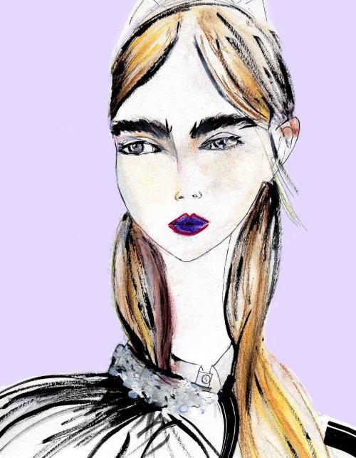 Fashion Portraits of teen model