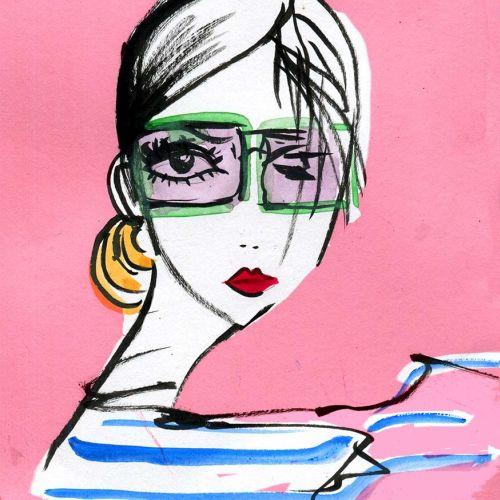 Lucia Emanuela Curzi Fashion and Beauty Illustrator • London