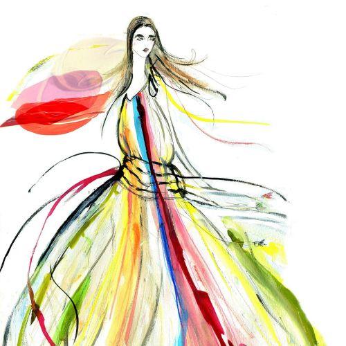 Lucia Emanuela Curzi Illustrateur Mode et Beauté • Londres