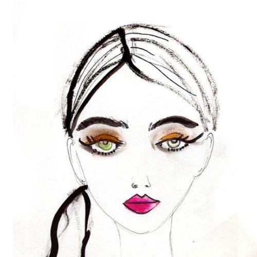 Lucia Emanuela Curzi Live Event Drawing Beauty Illustrator