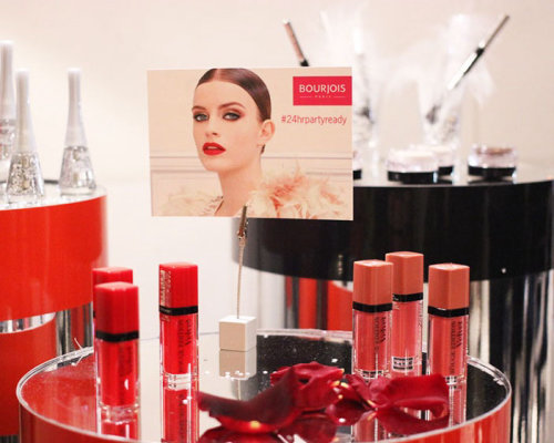 Live Event Drawing Bourjois cosmetics