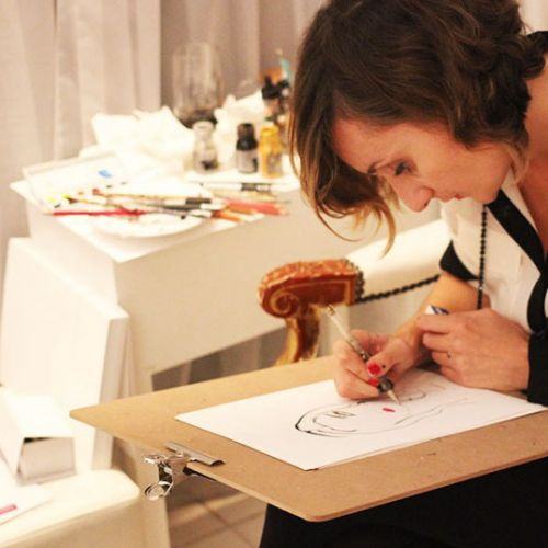 Lucia Emanuela Curzi Live Event Drawing Live Event Drawing