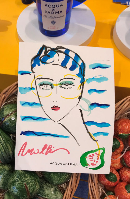 Live Event Drawing Acqua Di Parma