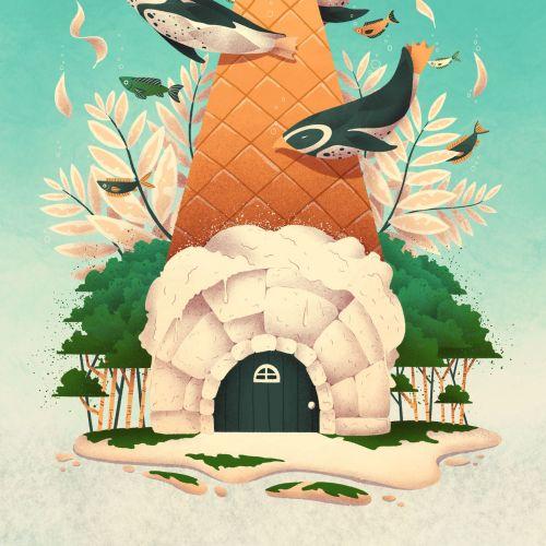 Luiza Laffitte Fantasy Illustrator from France
