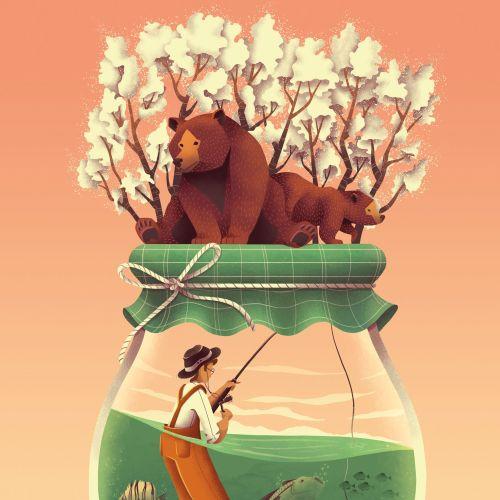 Unimaginable Worlds Collection - Honey Jar