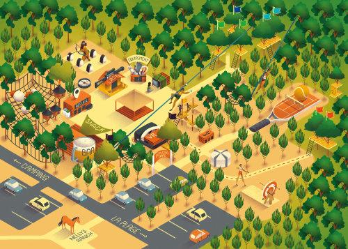 Explora Parc Map