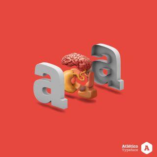 Graphic illustration of typography