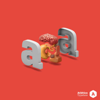 Graphic illustration of typography