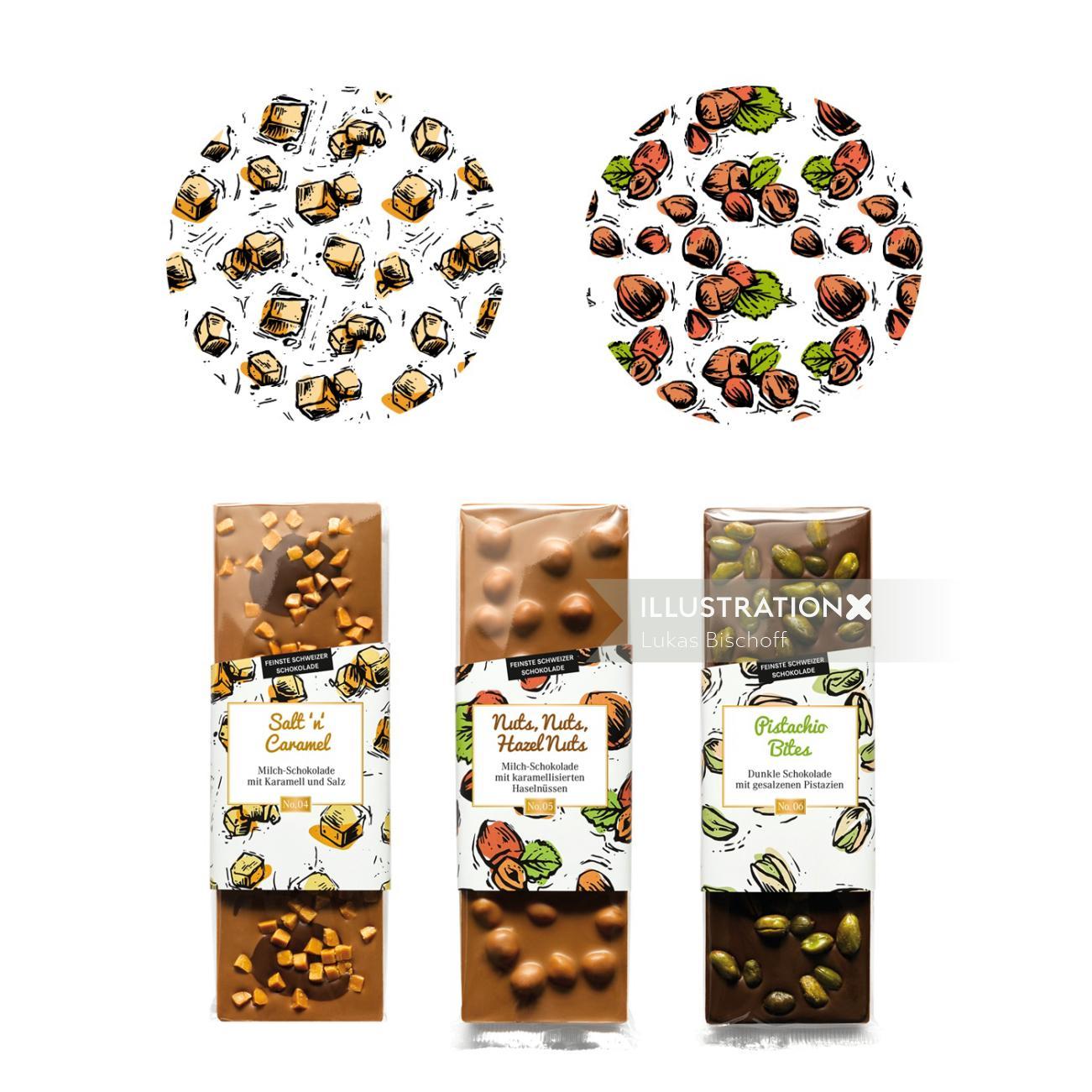 food & drink package cover illustration