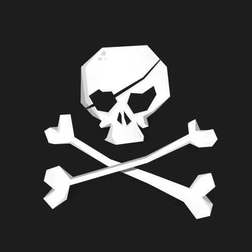 Cartoon & humor of Skull and bones
