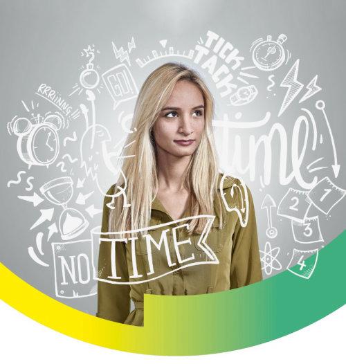 No Time lettering illustration