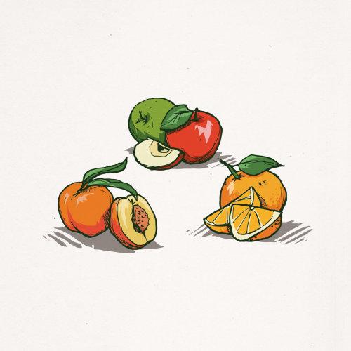 Food & drink illustration of Fruits