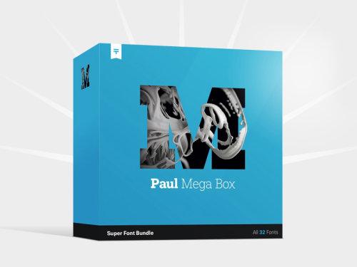 Paul mega box product box design