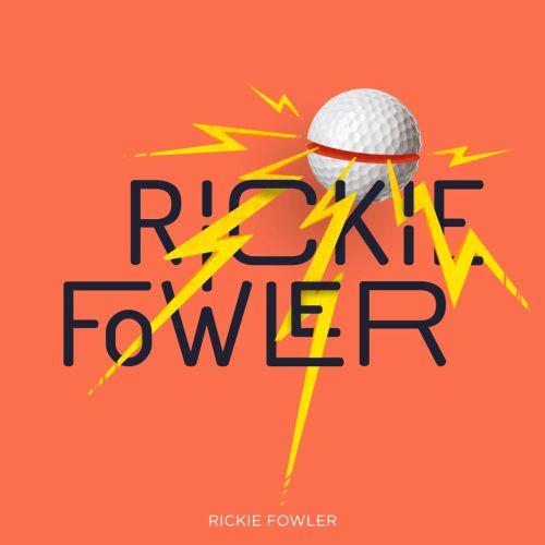 Rickie Fowler Golf graphic illustration