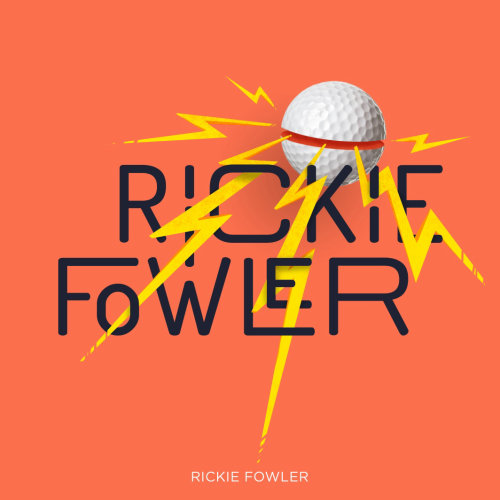Rickie Fowler Golf graphic illustration