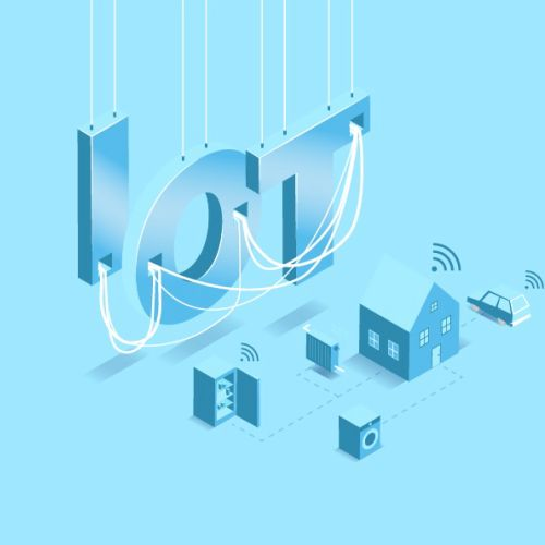 Vector Inforgraphic IOT