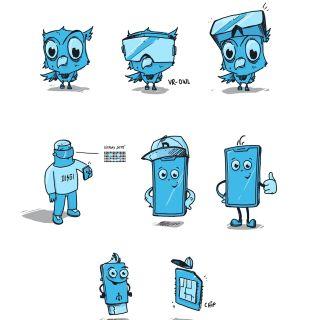 Lukas Bischoff Character Design