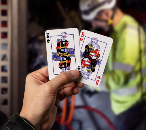 Graphic illustration of Playing cards