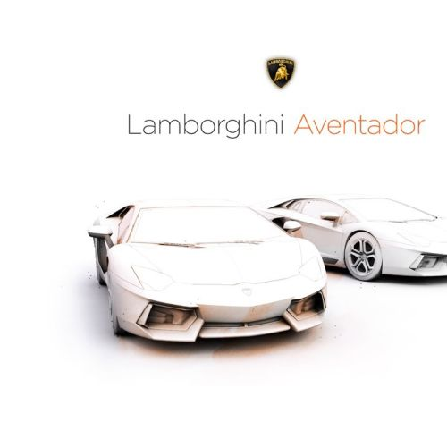 Lamborghini Car 3D Illustration by Lukas Bischoff