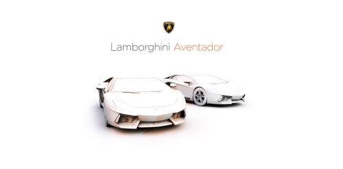 Lamborghini Car, 3D Illustration by Lukas Bischoff