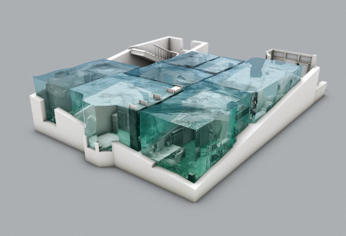 3d view of rooms