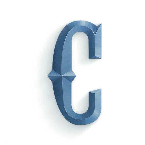3d lettering C
