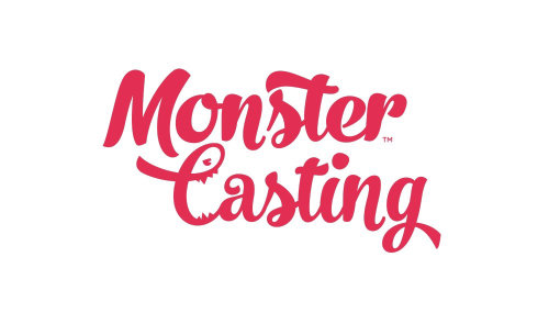 Monster Casting graphic lettering