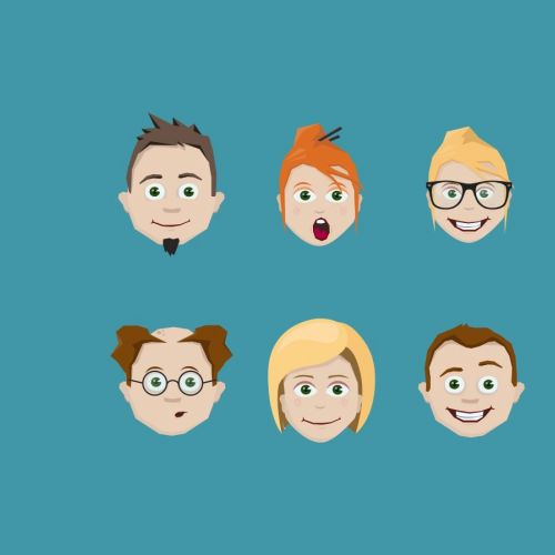 Lukas Bischoff Diseño de personajes