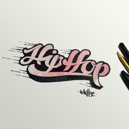 Hip Hop Lettering