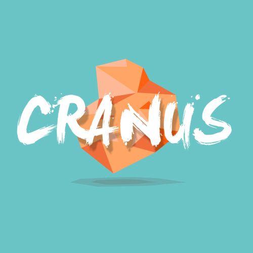 Cranus graphic lettering
