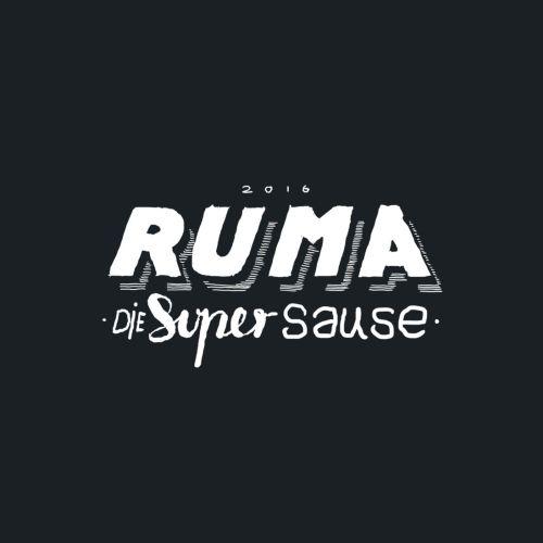 Ruma Graphic lettering