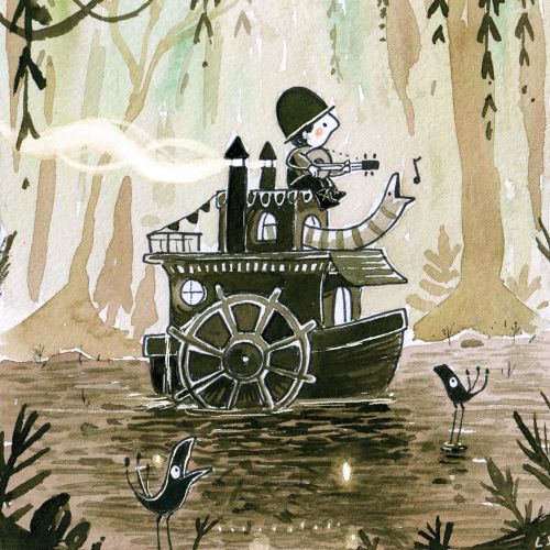 Luke Scriven Children Illustrator from United Kingdom