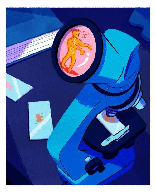 """""""流行病,疫苗和新病毒""""一书的插图"""