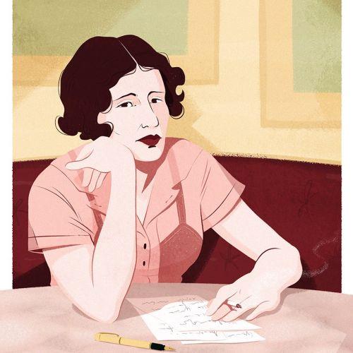 My portrait for L'Espresso Magazine