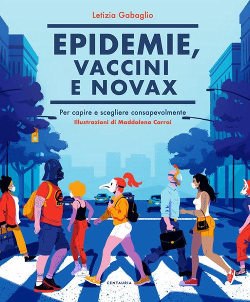 """我的书""""流行病,疫苗和无疫苗""""的封面"""