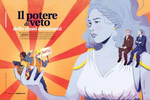 雅各宾杂志意大利的插图