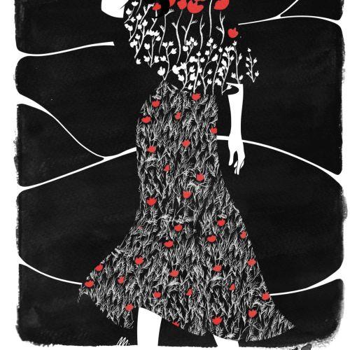 Maddalena Carrai Moda Illustrator from Italy