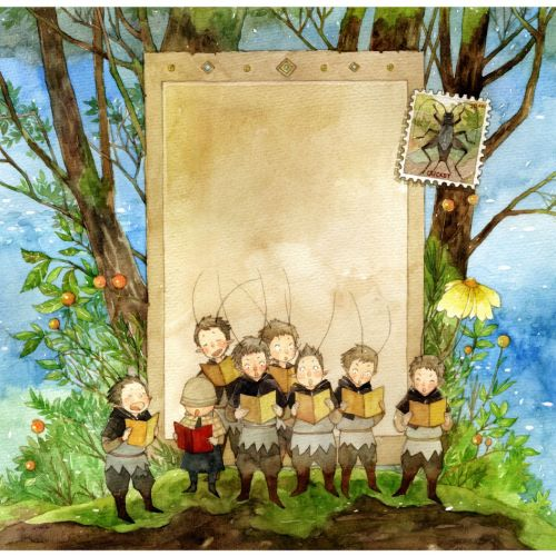 Mae Besom Ilustrador de livros infantis. China