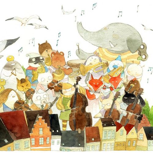 Mae Besom Children's book illustrator. China