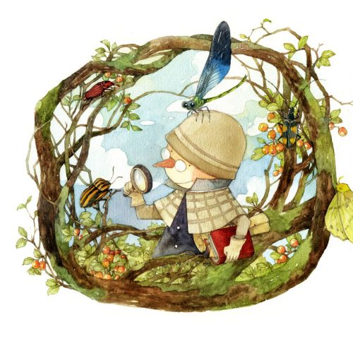 Mae Besom Educational Illustrator