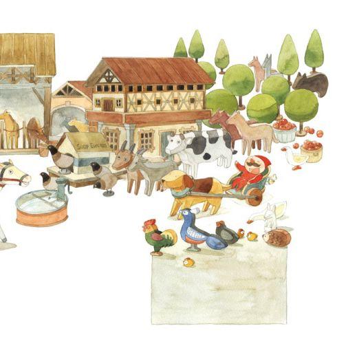 Mae Besom Children's book illustrator. China